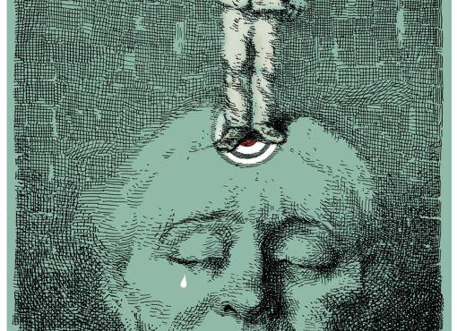 Dessin pour Le Monde : la prescription, la justice et le droit à l'oubli