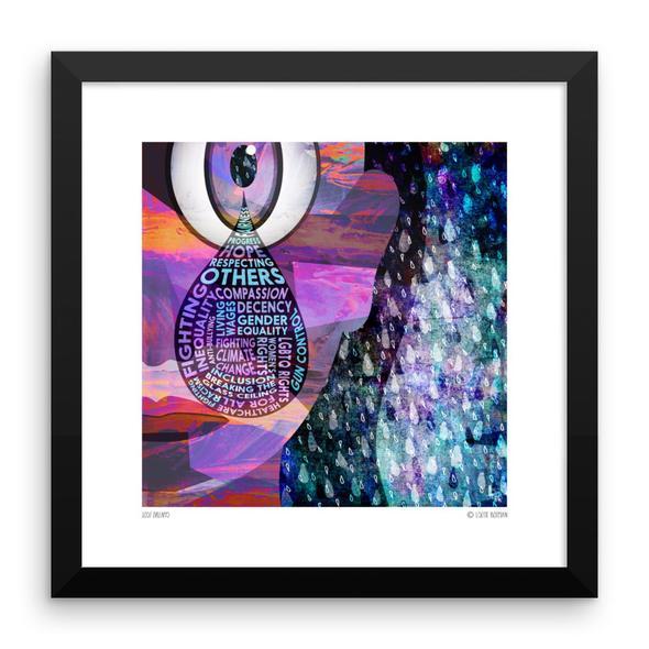 """""""Lost Dreams"""" Framed Art Print"""