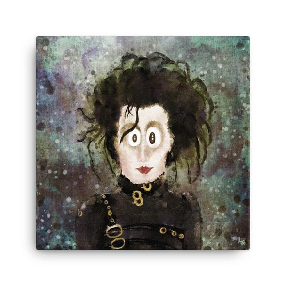 """The Original Edward"" Canvas Print"
