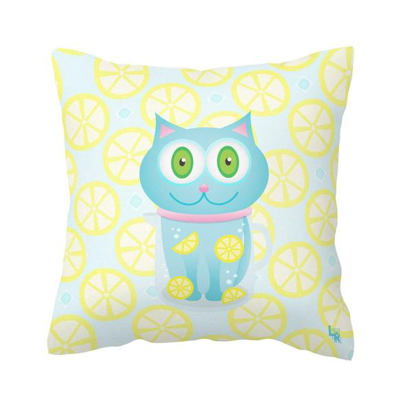 """""""Feeling Refreshed"""" Throw Pillow"""