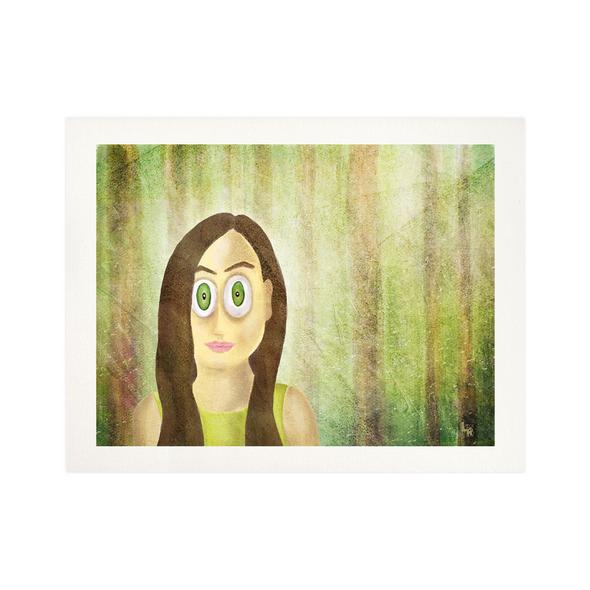 """Woods Series - Girl Portrait"" Fine Art Print"