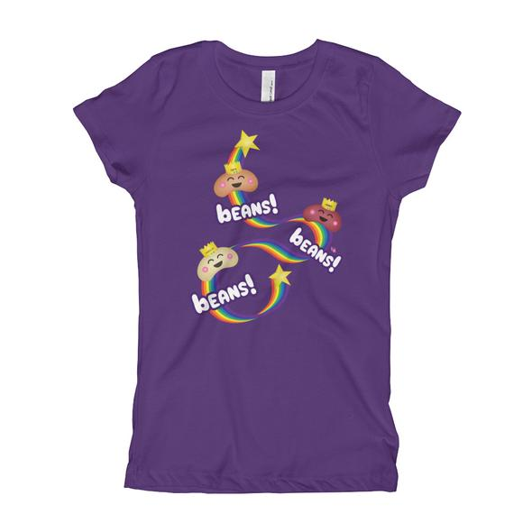 """Beans, Beans, Beans!"" Girl's T-Shirt"