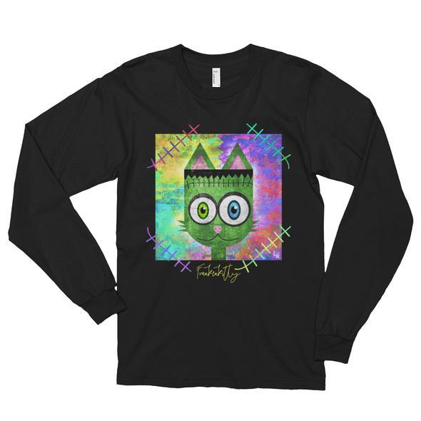 """""""Frankenkitty"""" Unisex Long Sleeve T-Shirt"""