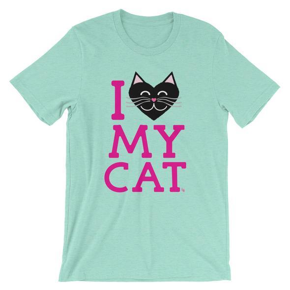 """I Love My Cat"" Unisex T-Shirt"