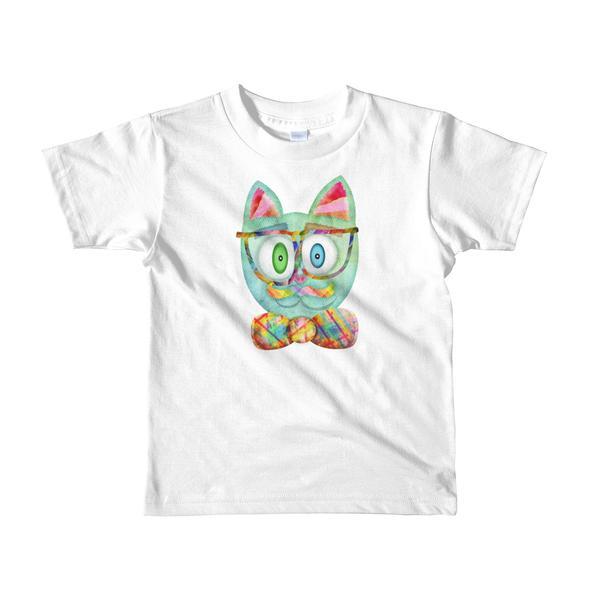 """""""Intellecat"""" Little Kids T-Shirt"""