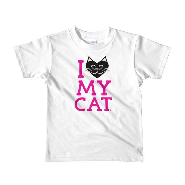 """""""I Love My Cat"""" Little Kids T-Shirt"""