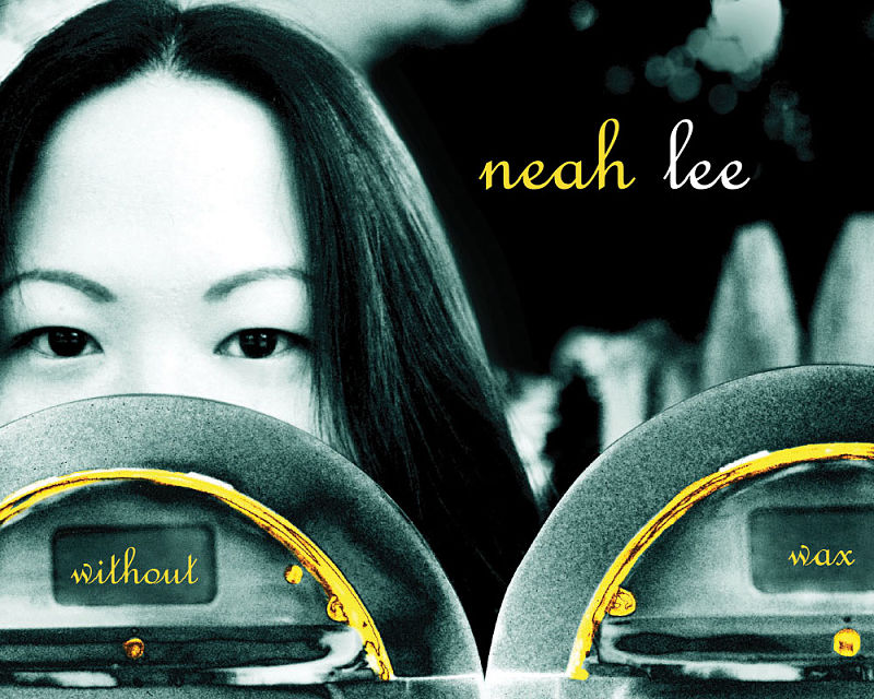 Neah Lee CD - Photography and CD Package Design