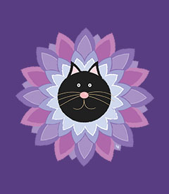 Purrrfect Flower