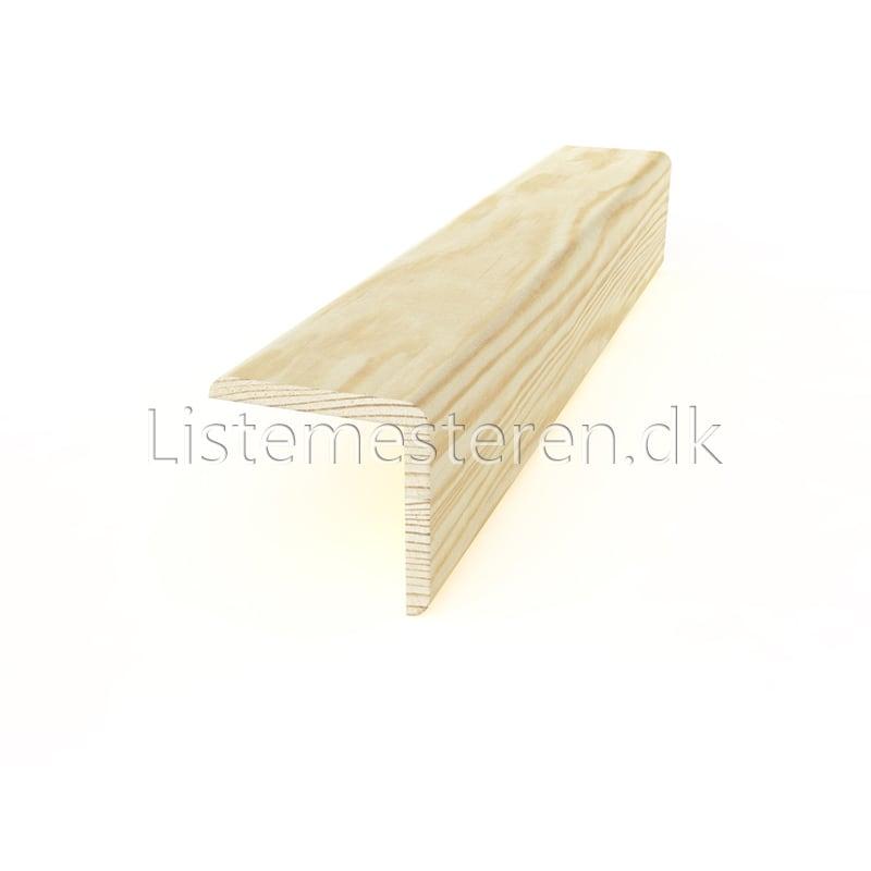 Falslister udvendig fyr 40 mm fals