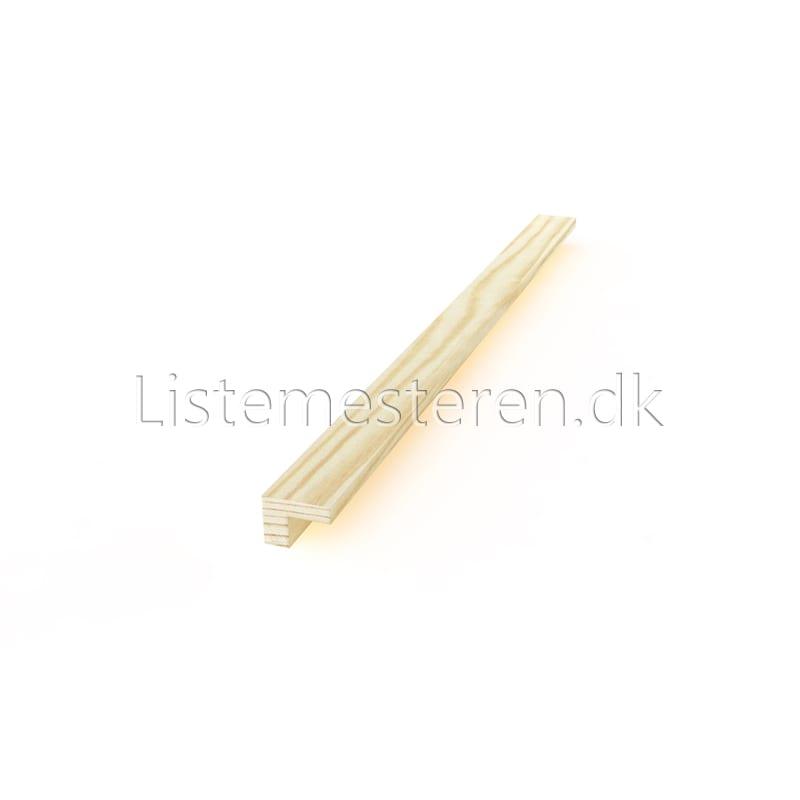 Falslister fyr 12 x 16 mm