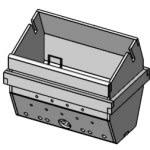 Brændeskål m/skærm speciel rustfrit stål - McZ