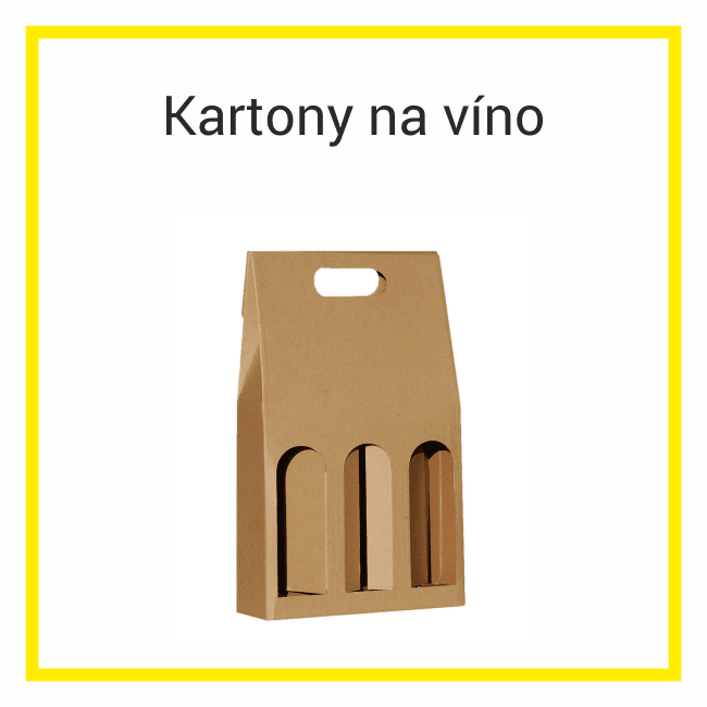 kartonové krabice na víno