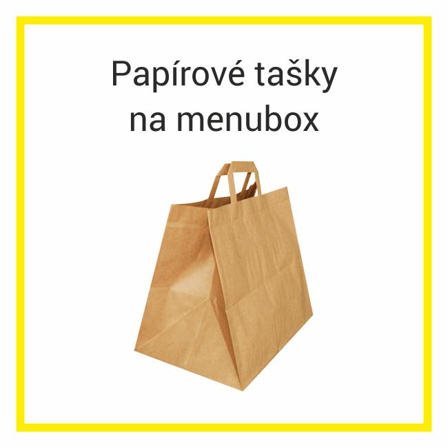 papírové tašky na menubox