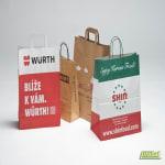Levné papírové tašky