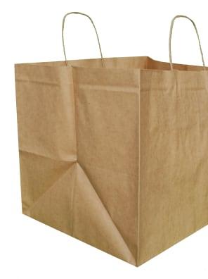 Papírová taška hnědá