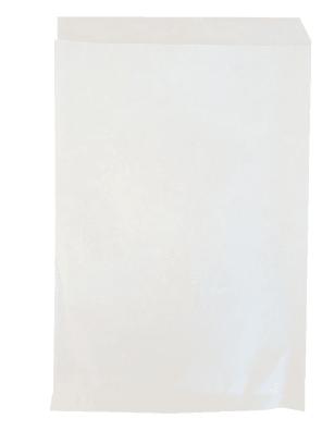 papírový sáček na kebab bílý
