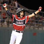 Canada runner scores game winning run