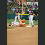 southwest player sliding second