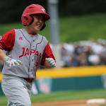 jpn hits a homer and runs bases