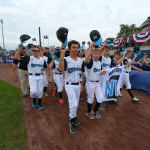 ll players walking onto field mlb classic