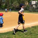 Cheltenham (Pa.) Little League players running