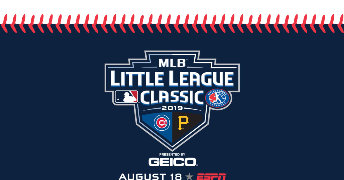 Pirates, Cubs to Play in 2019 MLB Little League Classic ...
