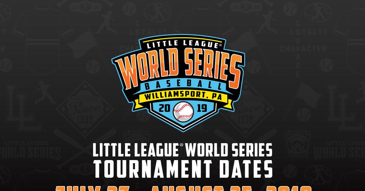 2019 world series dates in Australia