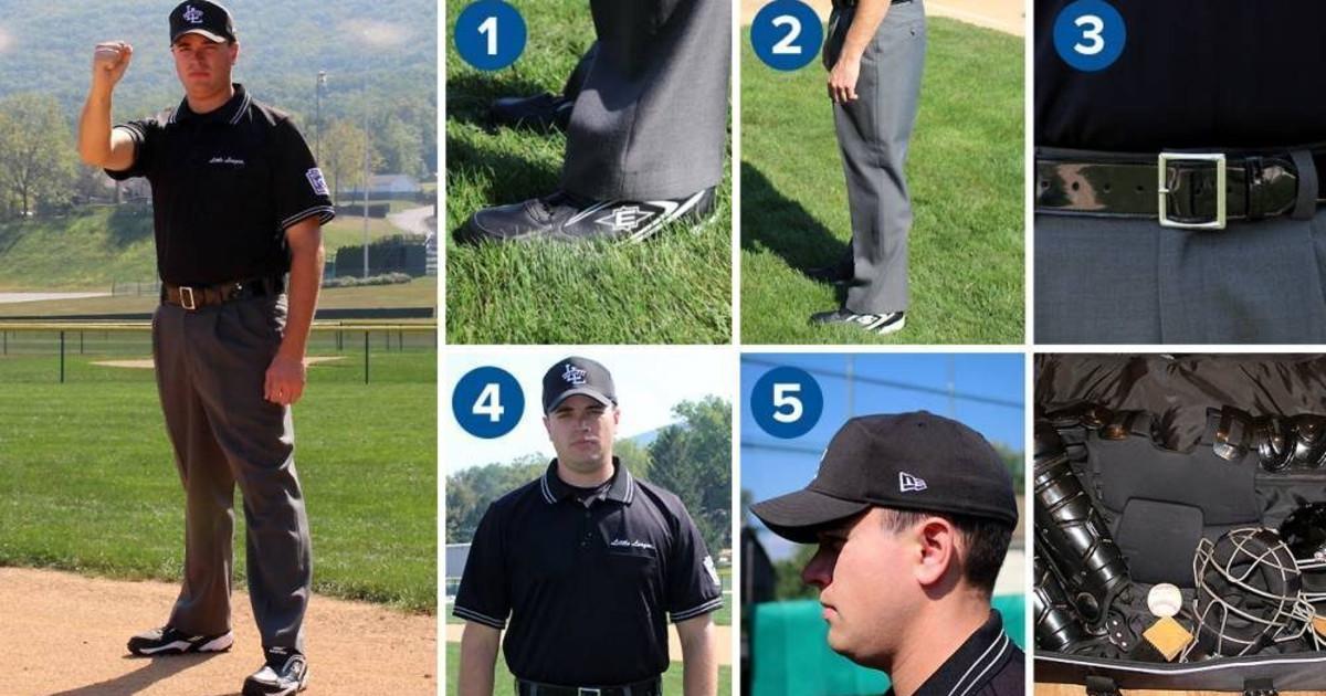 02f34b5c263ee Looking Official  The Umpire Uniform - Little League