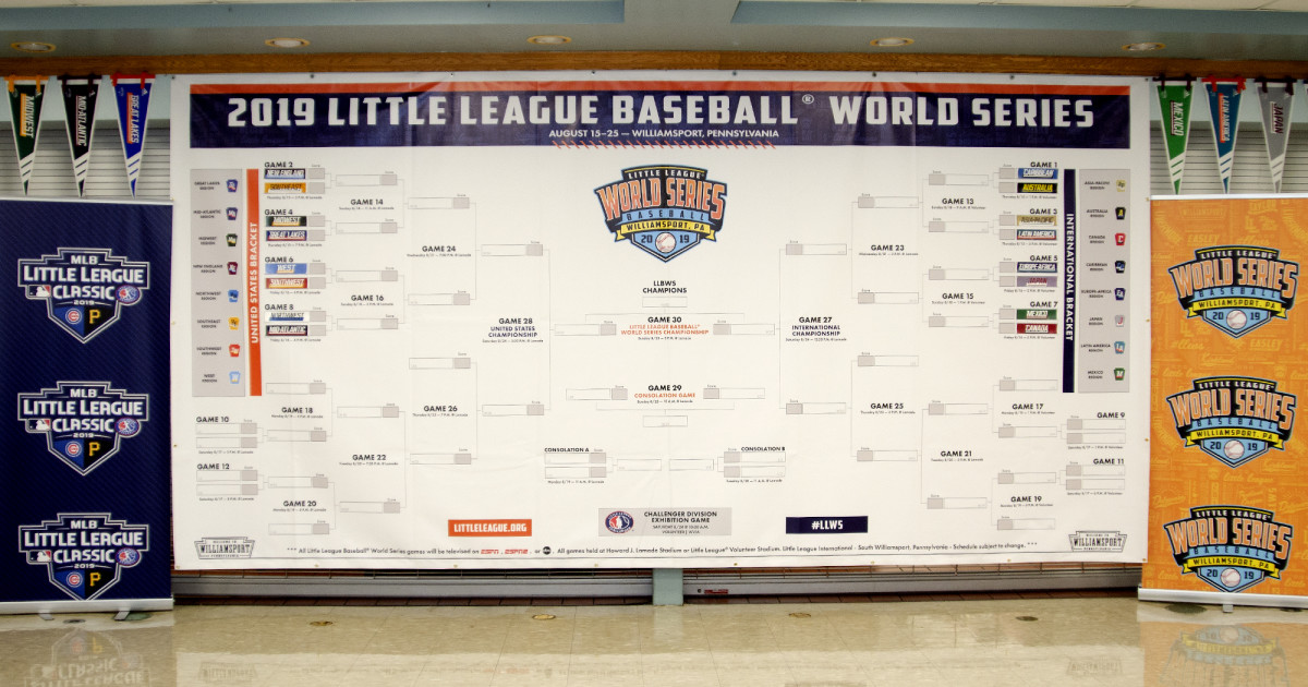 First Round Pairings For 2019 Little League Baseball