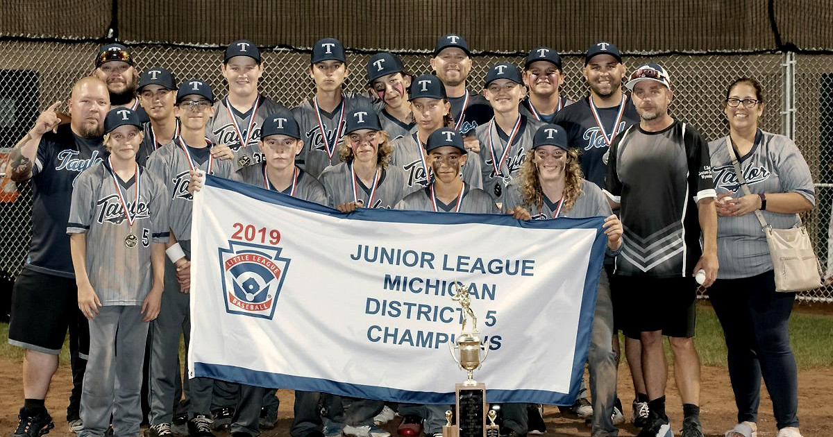 Taylor Team Qualifies For Junior League World Series