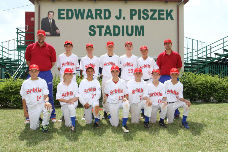 Little League Baseball Serbia Team
