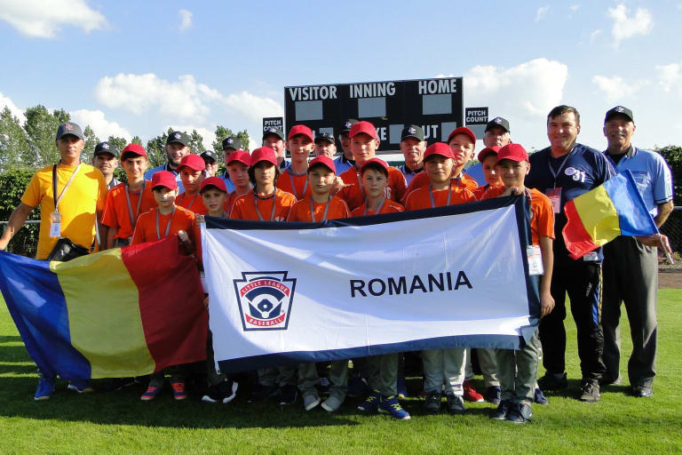 Little League Baseball Romania Team