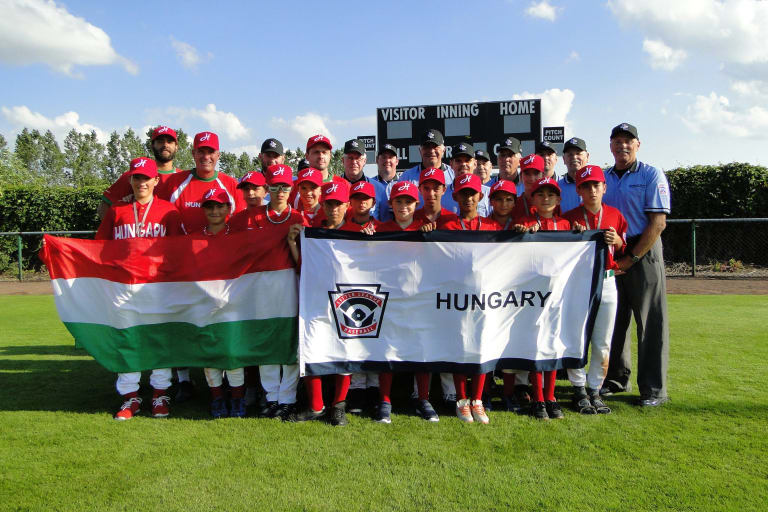 Little League Baseball Hungary Team
