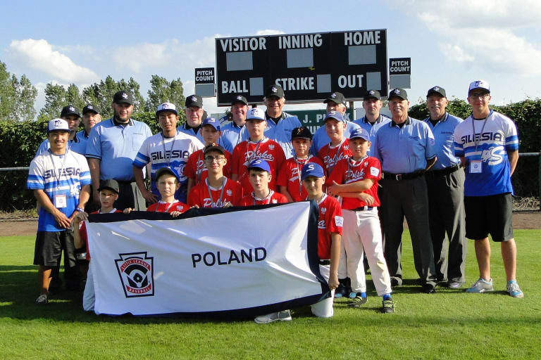 Little League Baseball Poland Team