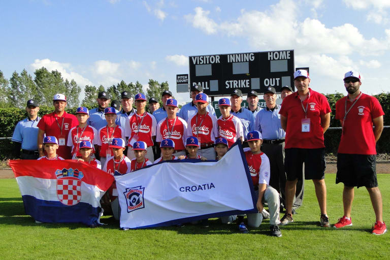 Little League Baseball Croatia Team