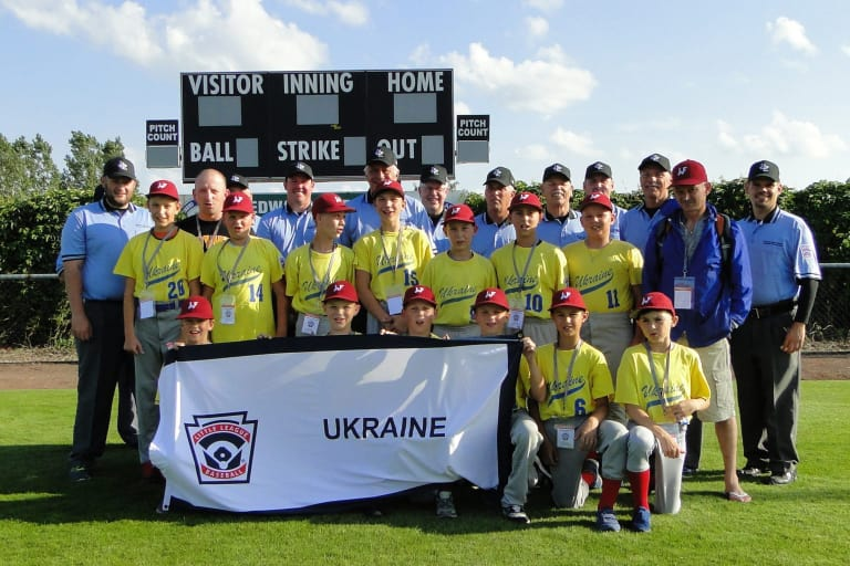 Little League Baseball Ukraine Team