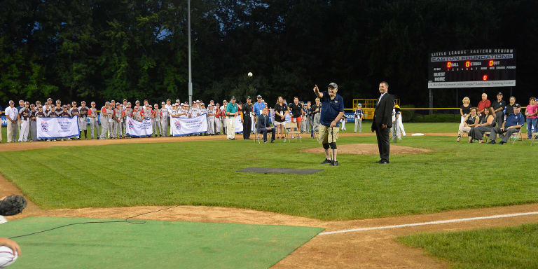 east-region-opening ceremonies-first-pitch