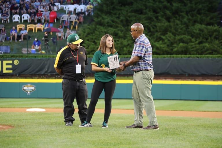 good sport receiving award
