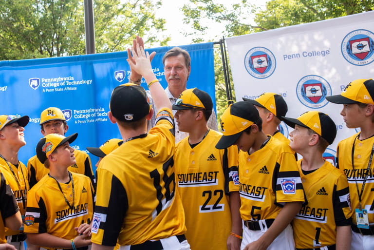 Southeast team with Randy Johnson