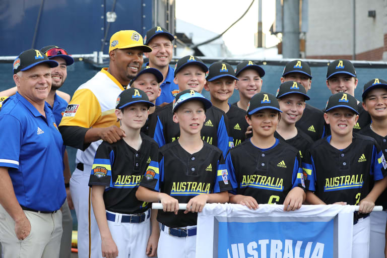 australia team mlb ll classic