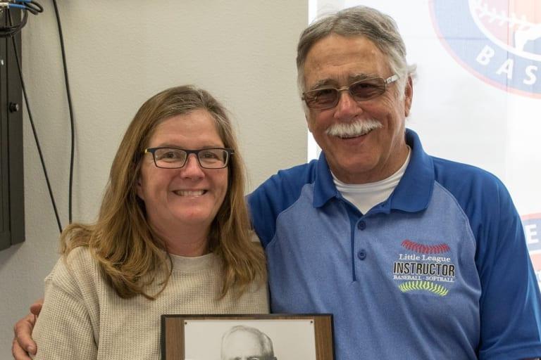 Elizabeth Osder with Bob Thorton