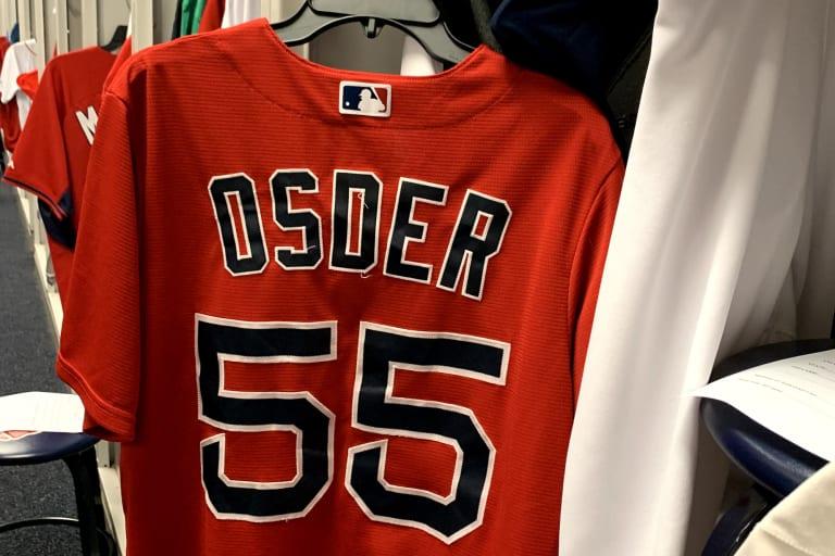 Elizabeth Osder Red Sox Jersey