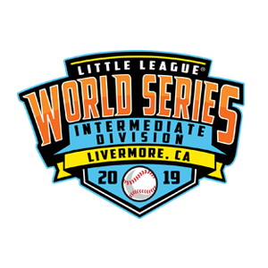 2019 Intermediate 50/70 Baseball World Series Logo