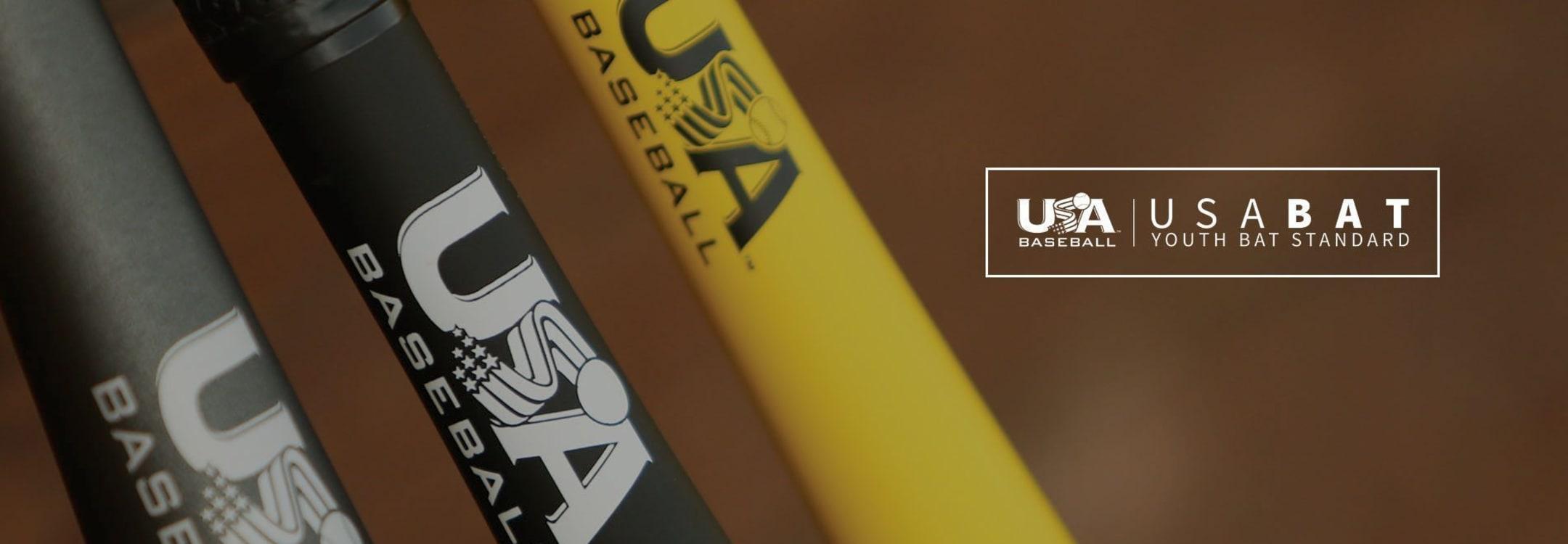 bat with usabat sticker