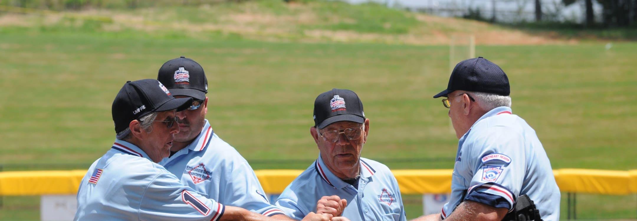 southeast region umpires