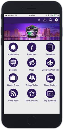 congress mobile app graphic