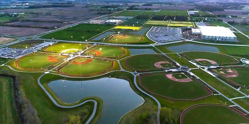 aerial grand park