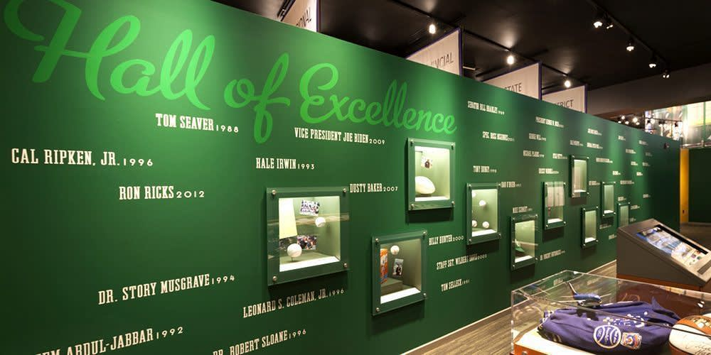 hall of excellence wall