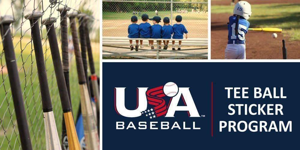 Chartered Tee Ball Programs for 2018 Season to Receive 25