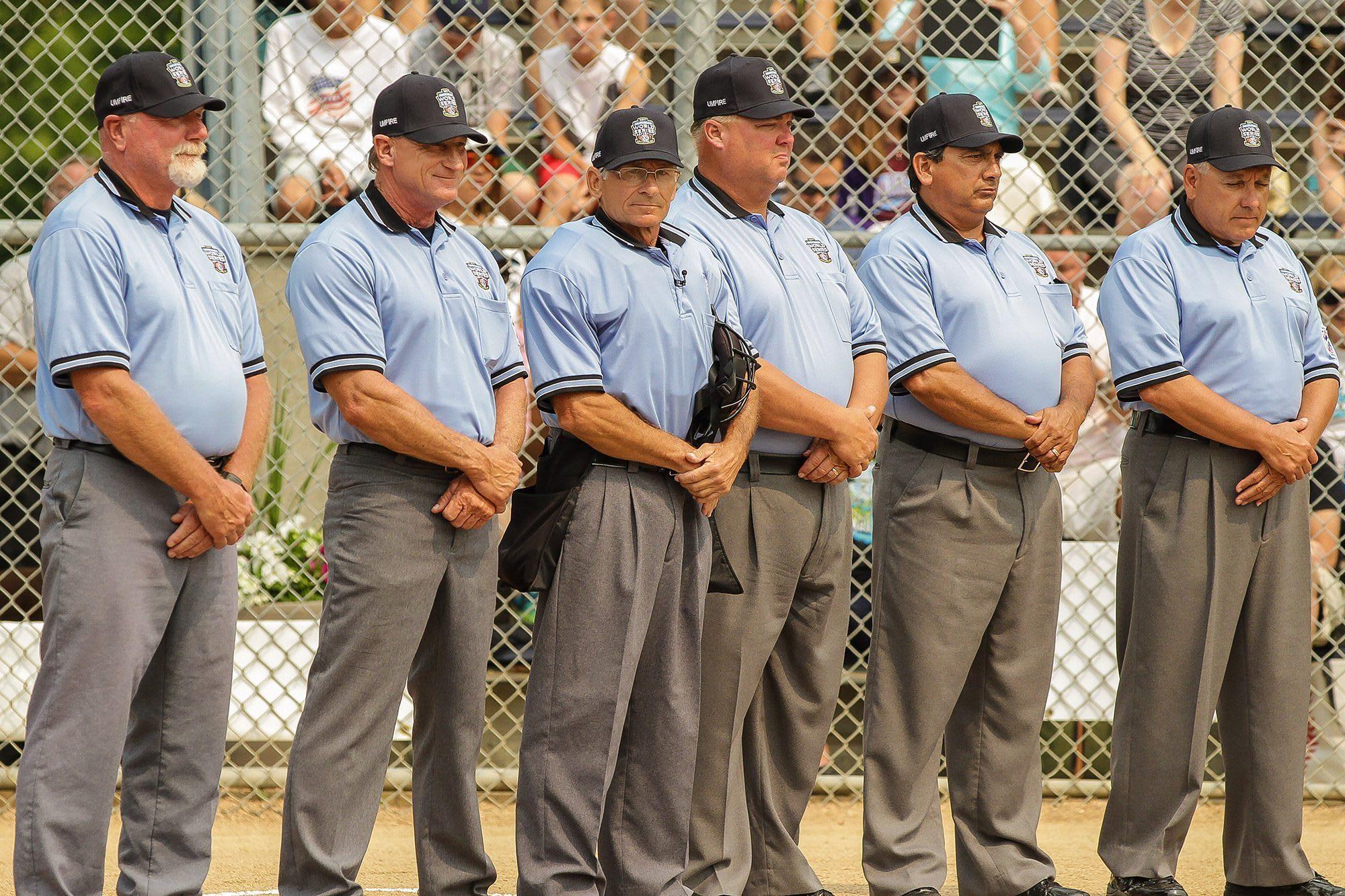 2018 LLWS Umpires